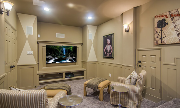 Media Room - The Hooks VI (6475 Plan)