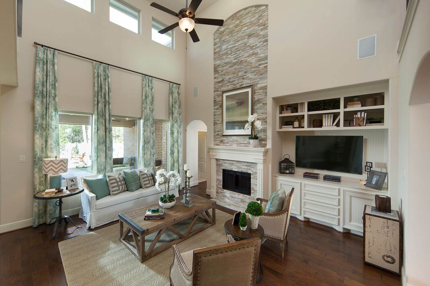 Family Room - The Buescher (5962 Plan)