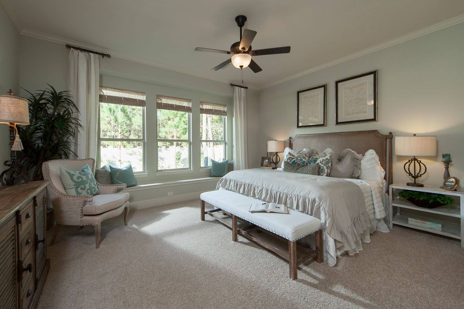 Master Bedroom - The Buescher (5962 Plan)