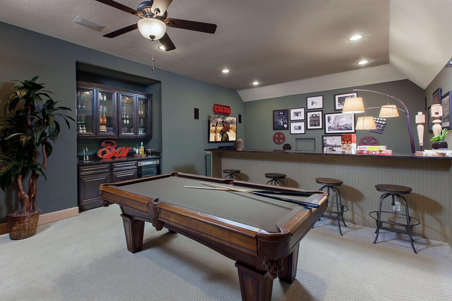 Game Room/Media Room - The Buescher (5962 Plan)