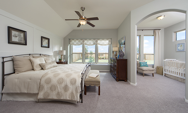 Master Suite with Sitting Area - The Spring (6460 Plan)