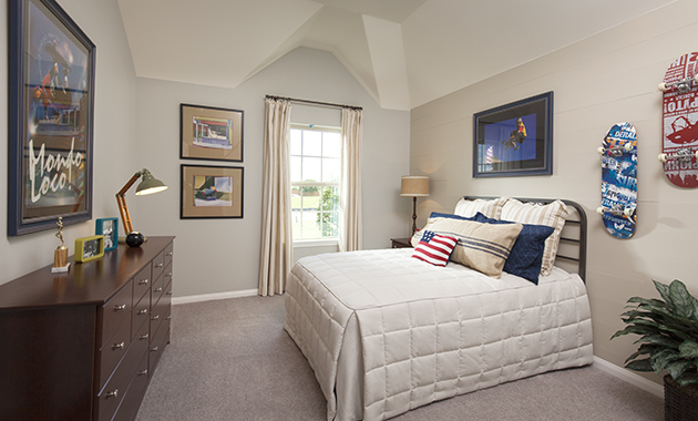 Secondary Bedroom - The Spring (6460 Plan)
