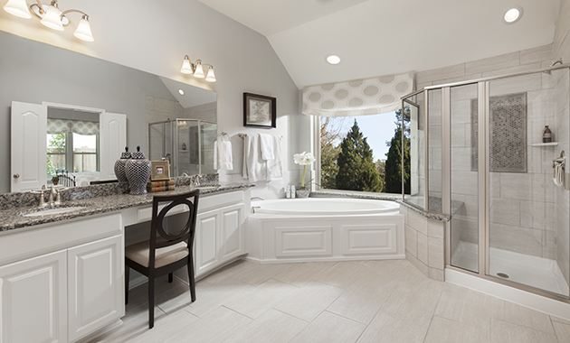 Master Bathroom - The Spring (6460 Plan)