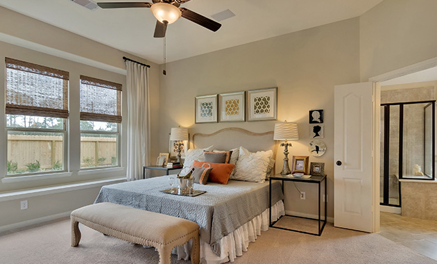 Master Bedroom - The Stuart V (5356 Plan)