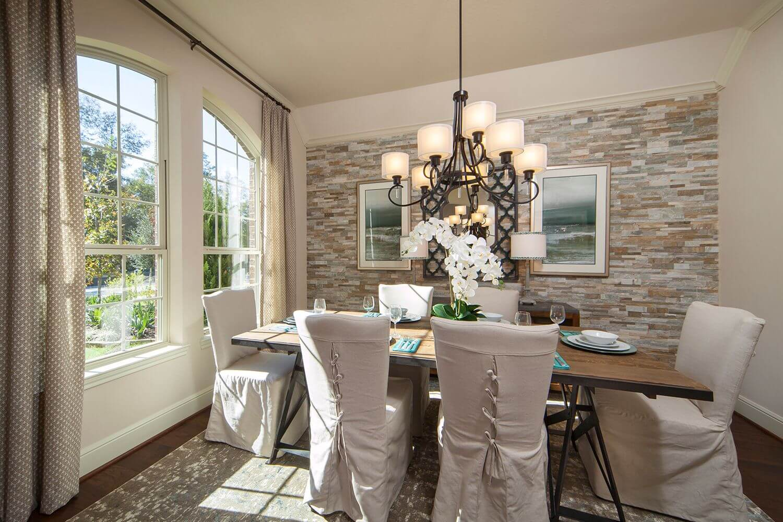 Dining Room - The Buescher (5962 Plan)