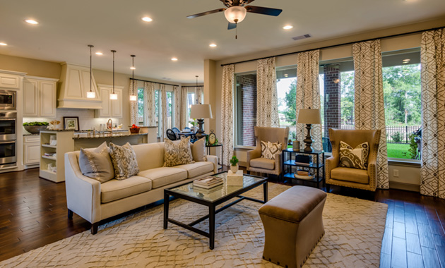 Living Room - Design 7301