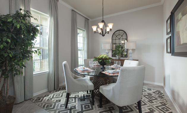 Dining Room - The Stuart V (5356 Plan)