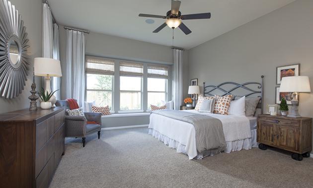 Master Bedroom - The Stuart V (5356 Plan)