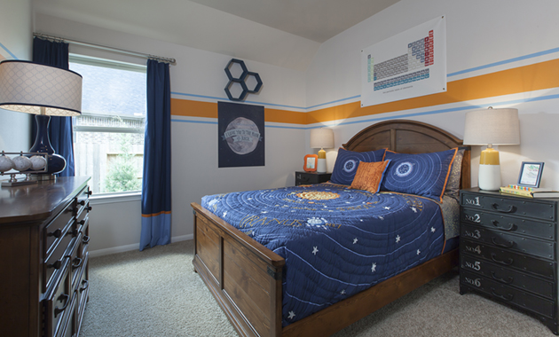 Secondary Bedroom - The Stuart V (5356 Plan)