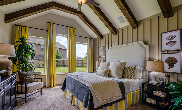 Master Bedroom - The Chappel Hill (5393 Plan)