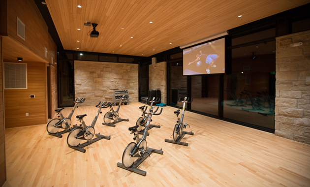Two-Story Fitness Center