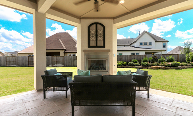Back Patio - Design 7304