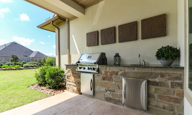 Outdoor Kitchen - Design 7304