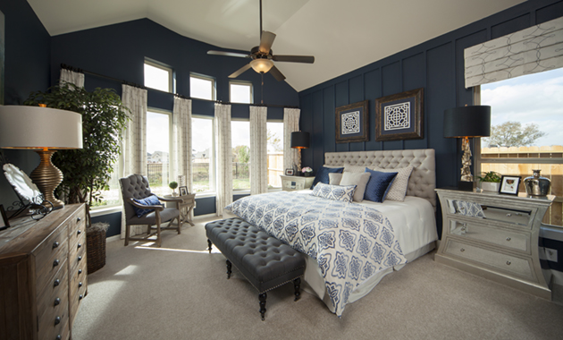 Master Bedroom - The Whitney (5960 Plan)