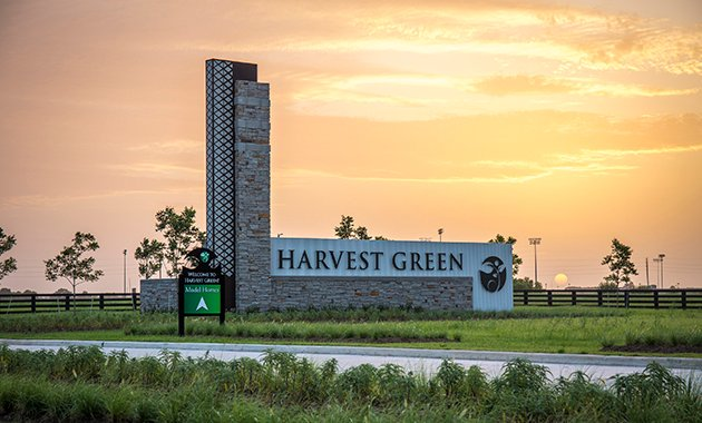 Harvest Green Entrance