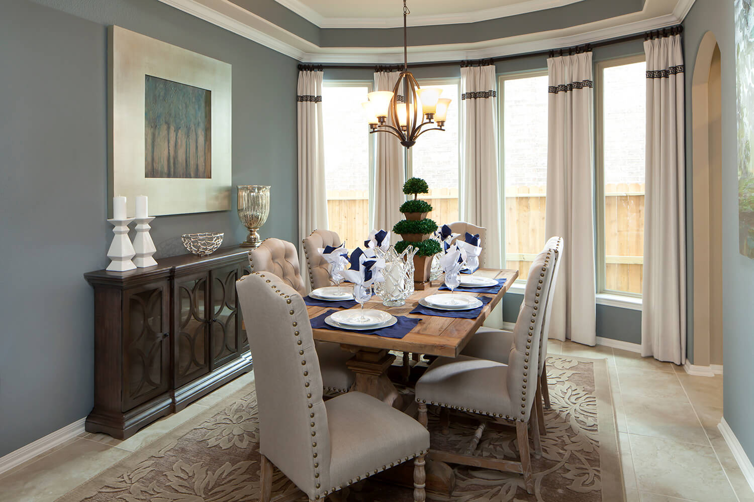 Dining Room - The Whitney (5960 Plan)