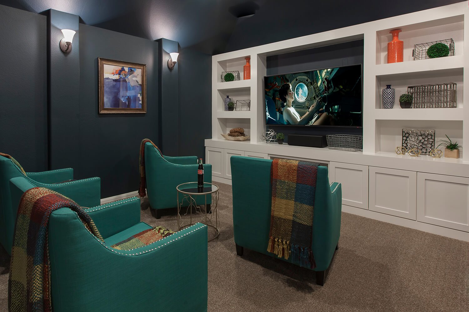 Media Room - The Whitney (5960 Plan)
