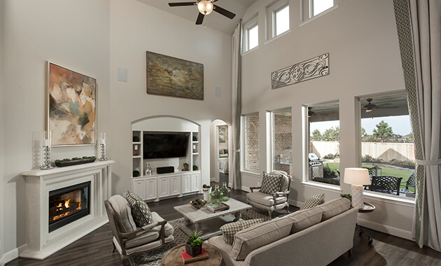 Family Room - Design 5960