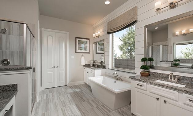 Master Bathroom - Design 5960