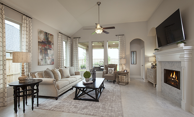 Family Room - Design 5391