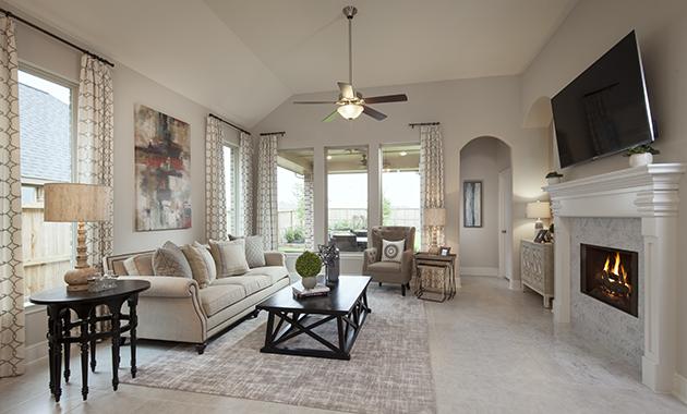 Family Room - Design 5391