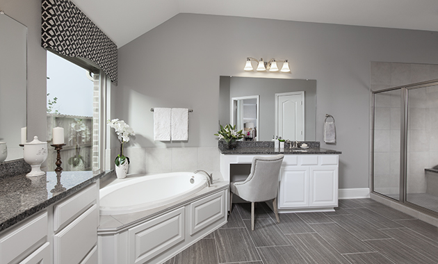 Master Bathroom - Design 5391