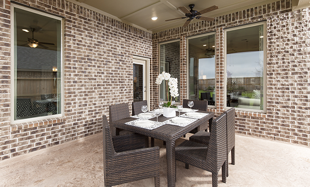Covered Patio - Design 5391