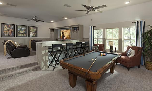 Game Room/Media Room - Design 6473
