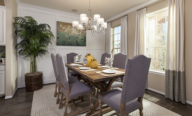 Dining Room - Oakhurst (6489 Plan)