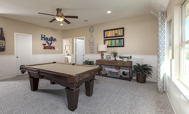 Game Room - Oakhurst (6489 Plan)