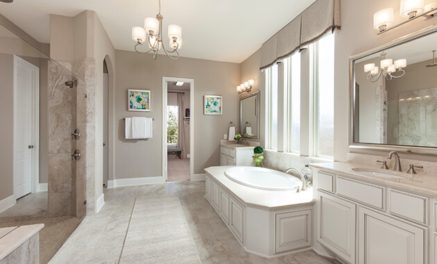 Master Bathroom - Design 8286