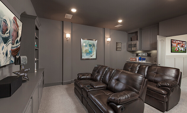 Media Room - Design 8286