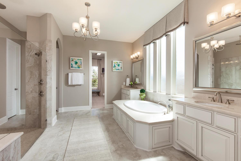 Master Bathroom - Design 8286