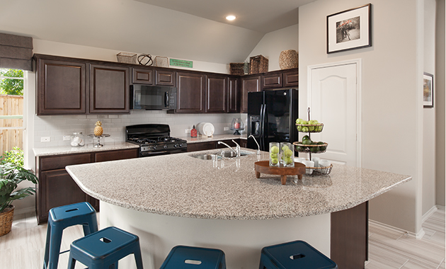 Kitchen - Celina (4832 Plan)