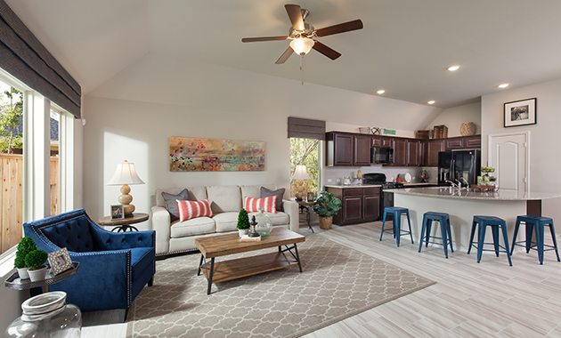 Family Room - Celina (4832 Plan)