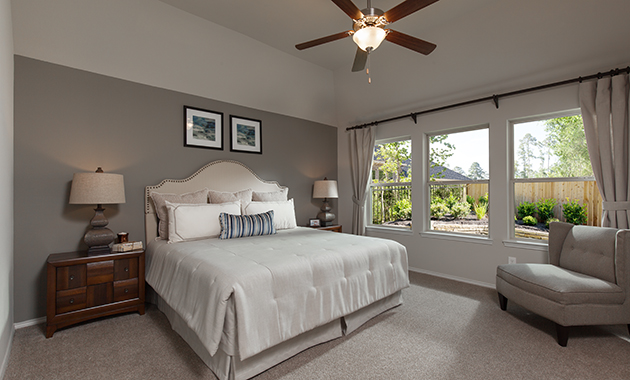 Master Bedroom - Celina (4832 Plan)