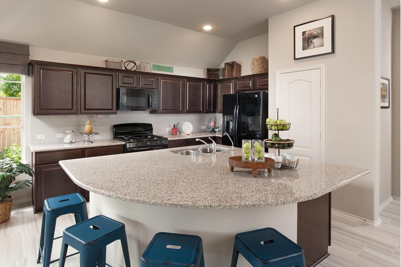 Kitchen - Celina (4832 Plan)