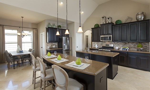 Kitchen - The Miami III (5961 Plan)