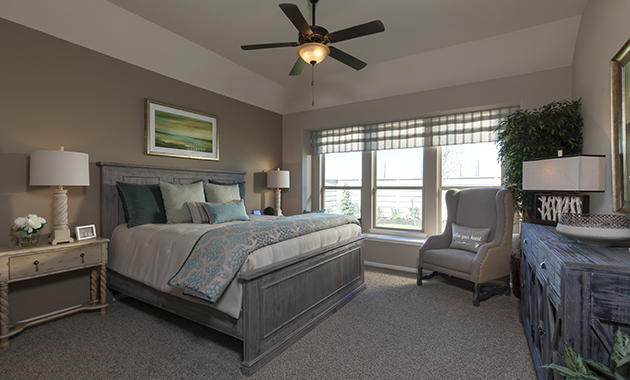 Master Bedroom - The Miami III (5961 Plan)