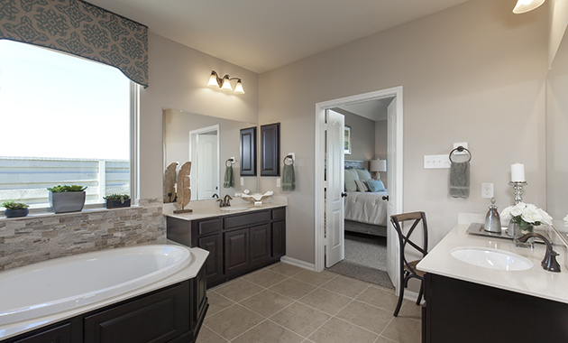 Master Bathroom - The Miami III (5961 Plan)
