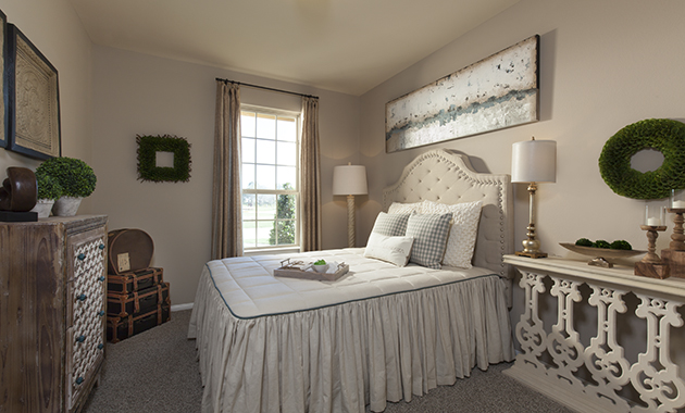 Guest Bedroom - The Miami III (5961 Plan)