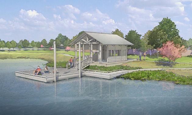 Pomona Pond Artist Rendering