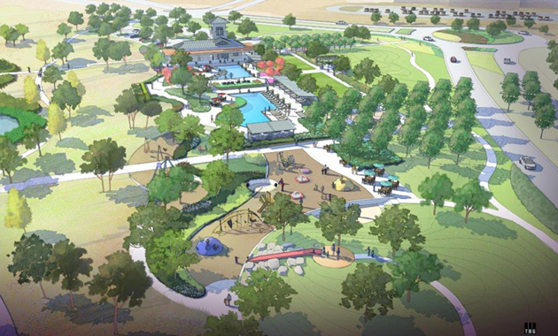 Pomona Recreation Center Artist Rendering