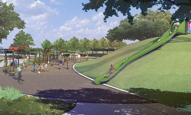 Pomona Park Artist Rendering