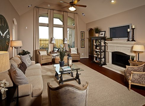 Living Room - The Nederland II (6458 Plan)