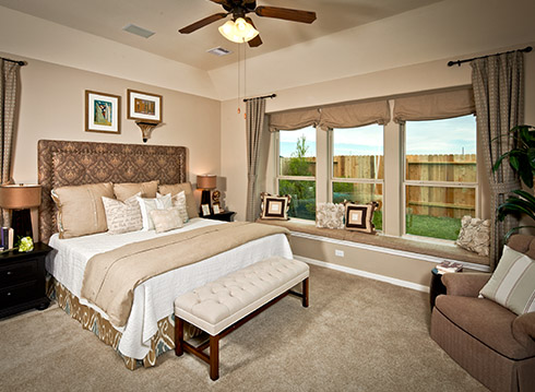 Master Bedroom - The Nederland II (6458 Plan)