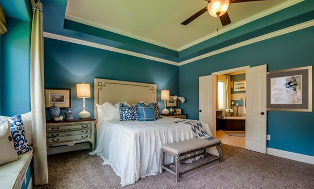 Master Bedroom - The Hooks VI (6475 Plan)
