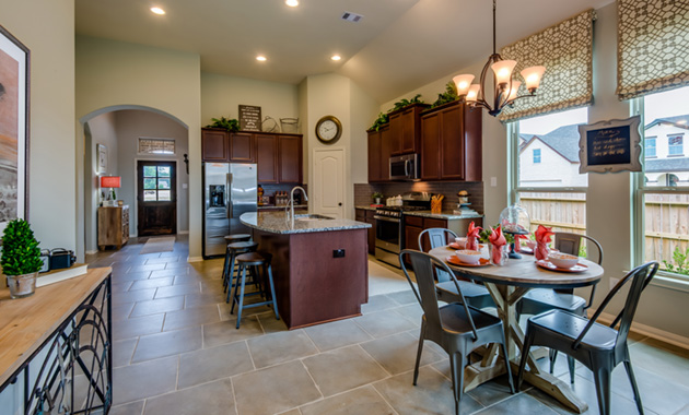 Kitchen and Breakfast Area - The Kilgore (5391 Plan)