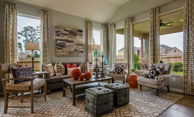 Family Room - The Kilgore (5391 Plan)