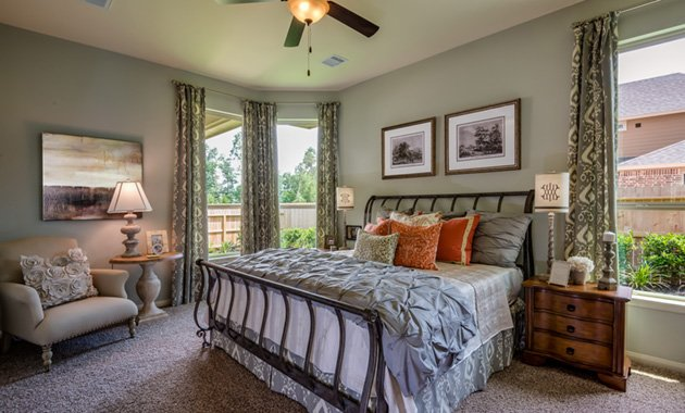 Master Bedroom - The Kilgore (5391 Plan)